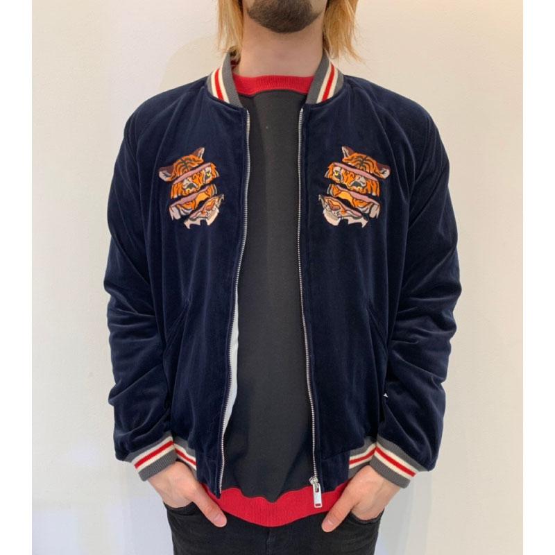 john_undercover_19ss_juw4204_tiger_embroidered_velveteen_sukajan_juw4204
