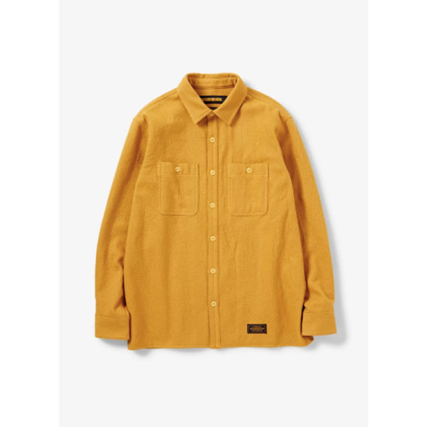 neighborhood_2019aw_lumbers_solid_cw_shirt_ls_192arnh_shm01