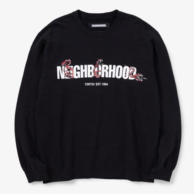 neighborhood_2020ss_slub_c_crew_ls_201fhnh_csm01